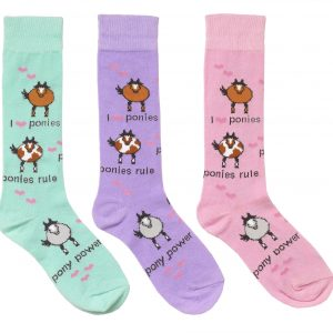 Childs Pony Power Socks