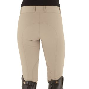 Celebrity EuroWeave™ DX Euro Seat Front Zip Knee Patch Breeches – Ladies'
