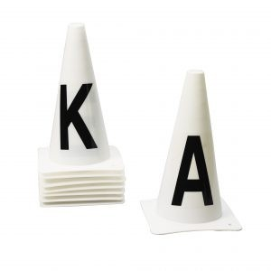 Dressage Cones- Set of 4