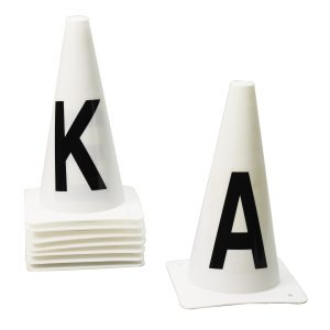 Dressage Cones- Set of 8