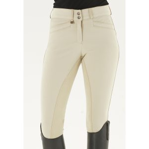Celebrity Slim Secret EuroWeave™ DX Front Zip Full Seat Breeches – Ladies'