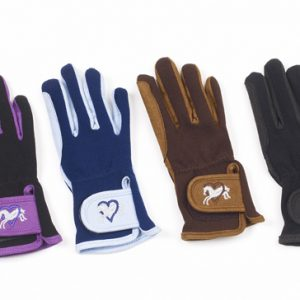 Hearts & Horses Gloves – Child's