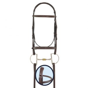 RCS Fancy Stitched Padded Bridle