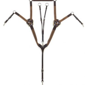 Classic Collection- 5-Point Breastplate with Running Attachment