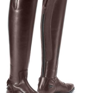 Olympia Tall Show Boot – Dark Brown