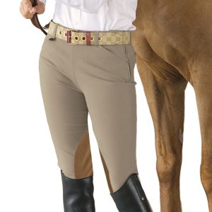 EuroWeave™ Side-Zip Knee Patch Breech- Child's