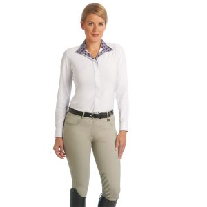 Aqua-X™ Silicone Knee Patch Breeches – Ladies'