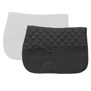 Double Back Fleece Quilted Dressage Pad