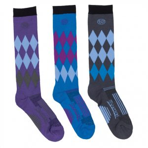 Dry-Tex™ Harlequin Knee High Riding Socks