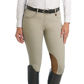 Aqua-X™ Stretch Suede™ Knee Patch Breeches – Ladies'