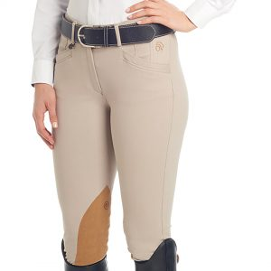 Marilyn SoftFLEX Shapely Knee Patch Breeches- Ladies'