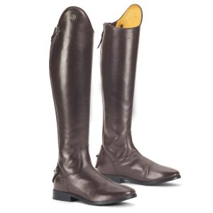 Mirabella Hunter Dress Boot- Chocolate
