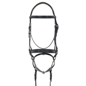 Juliana Traditional Flash Dressage Bridle