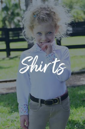 Girls' Riding Shirts