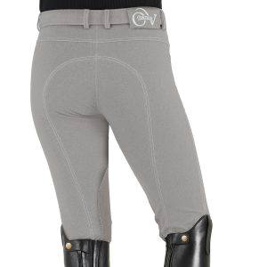 SoftFLEX Zip Front Classic Knee Patch Breeches – Ladies'