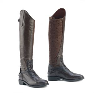 Sofia Grip Brown Field Boot- Ladies'